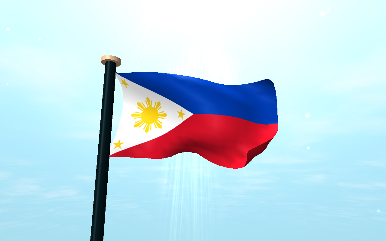 Philippines flag 3d wallpaper android apps on google play for Wallpaper home philippines