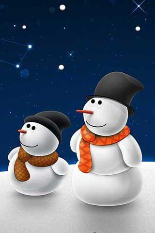 Christmas Snowman - screenshot