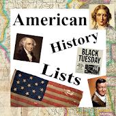 American History Lists (U.S.)