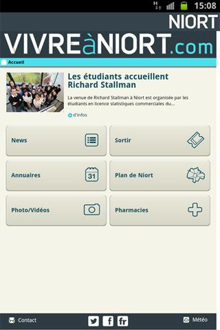 Ville de Niort - screenshot