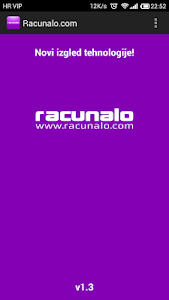 Racunalo.com screenshot 0