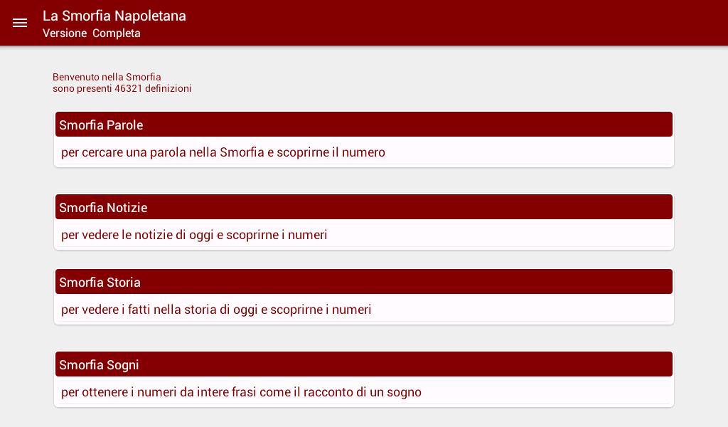 Smorfia Napoletana Gratis - screenshot
