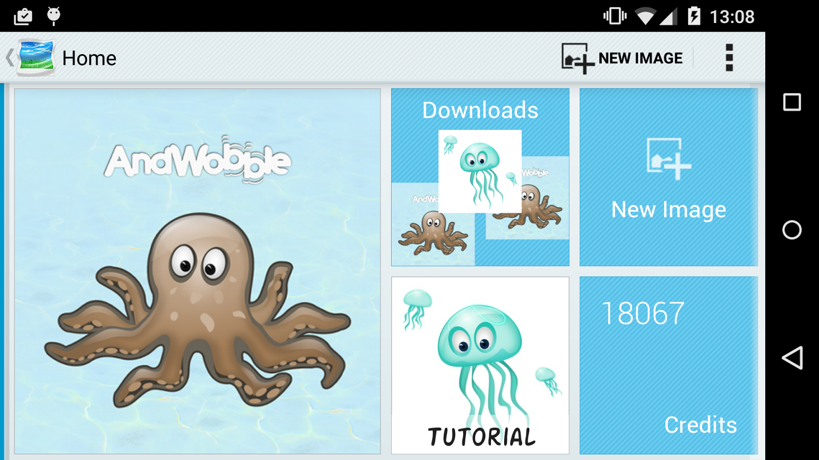 AndWobble- screenshot