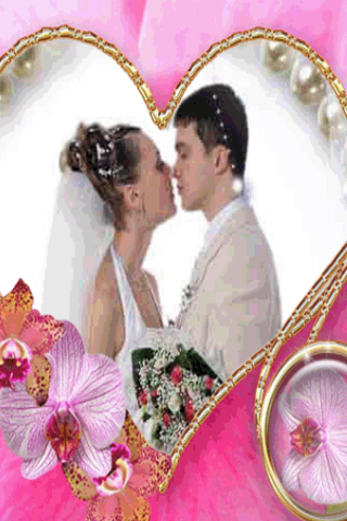 Wedding Love Photo Frame- screenshot