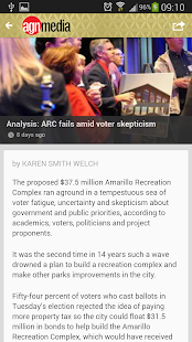 Amarillo Globe-News Mobile - screenshot thumbnail