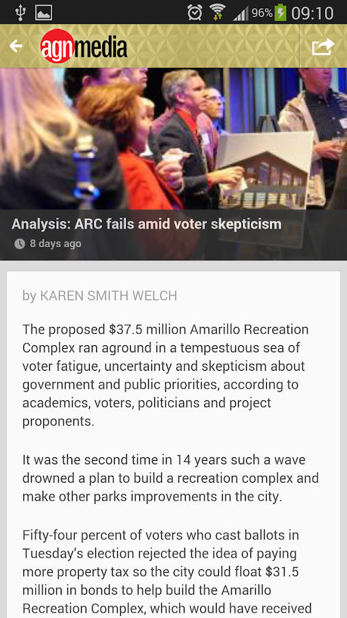 Amarillo Globe-News Mobile - screenshot