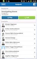 Screenshot of Eimskip