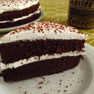 Chocolate Cake With Chantilly