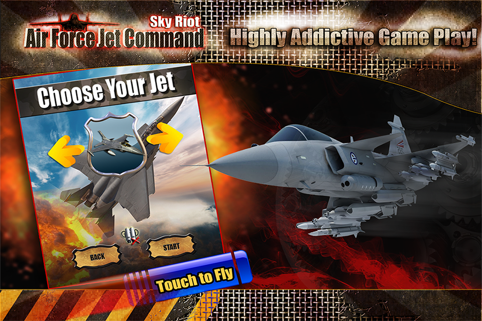 Sky Riot Air force Jet Command - screenshot