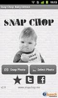 Screenshot of Snap Chop: Baby Edition