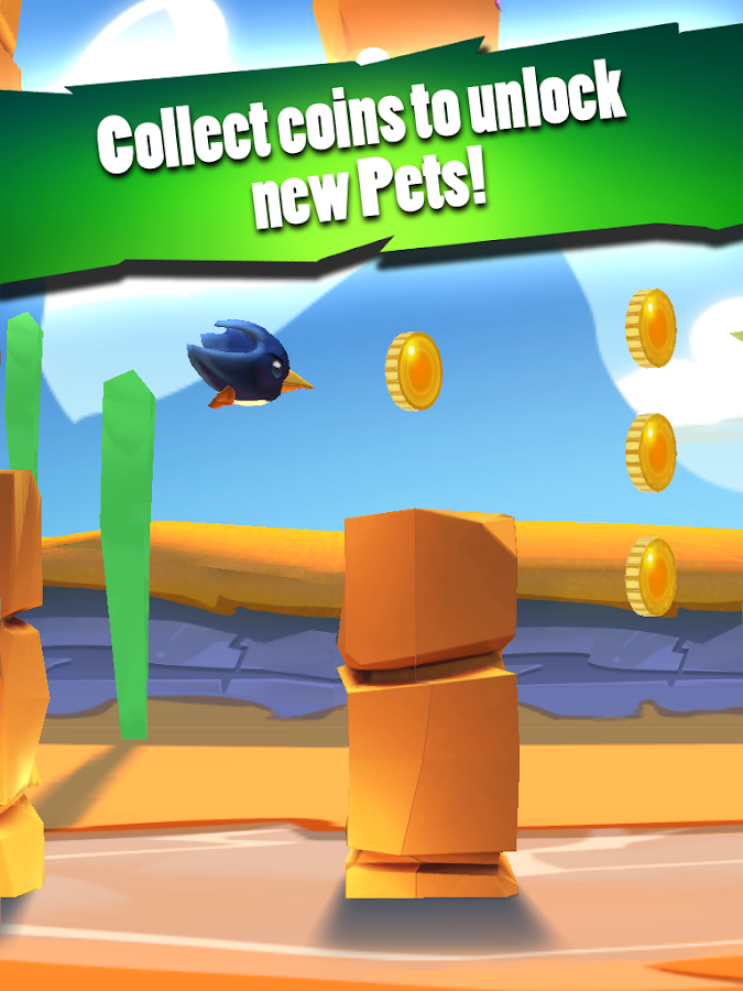 Flappy Pets 3D - screenshot
