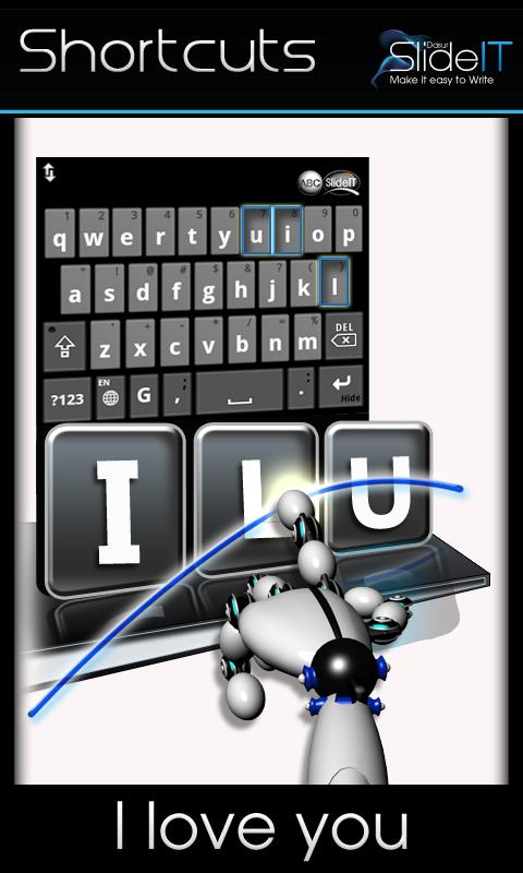 SlideIT free Keyboard- screenshot