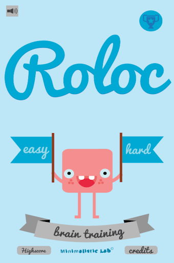 Roloc - A brain training game