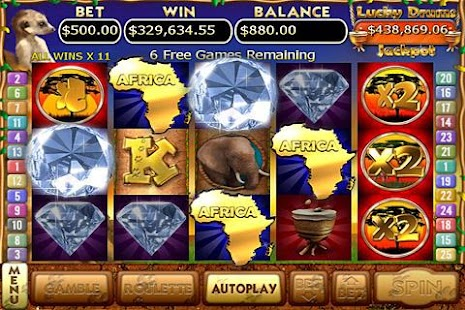 Kalahari Sun Slots FREE- screenshot thumbnail