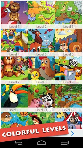 Cartoon Animals Game For Kids