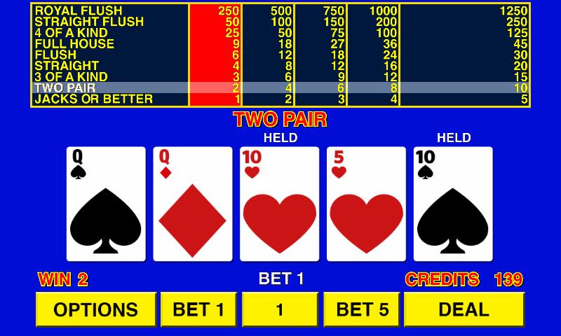 Play Jacks or Better Video Poker at Casino.com Australia