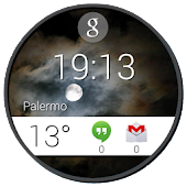 Android Wear Zooper Skin