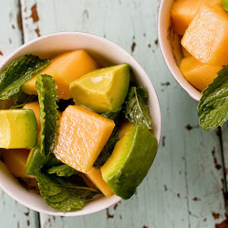 Melon Salad With Mint & Lime