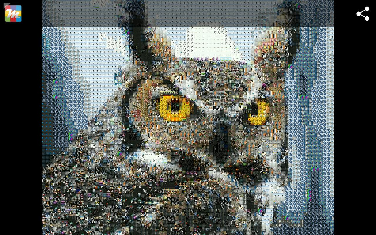 Mosaicture - Photo Mosaic- screenshot