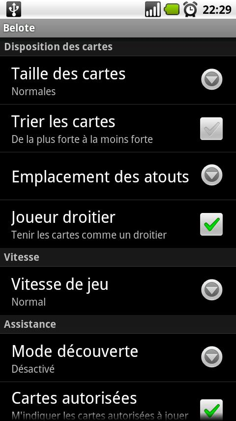 French Belote- screenshot