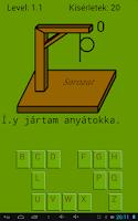 Screenshot of Akasztófa