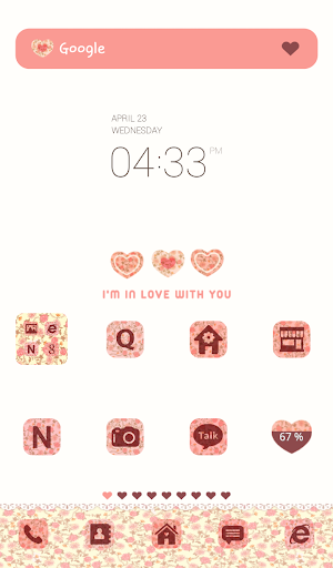 im in love dodol theme