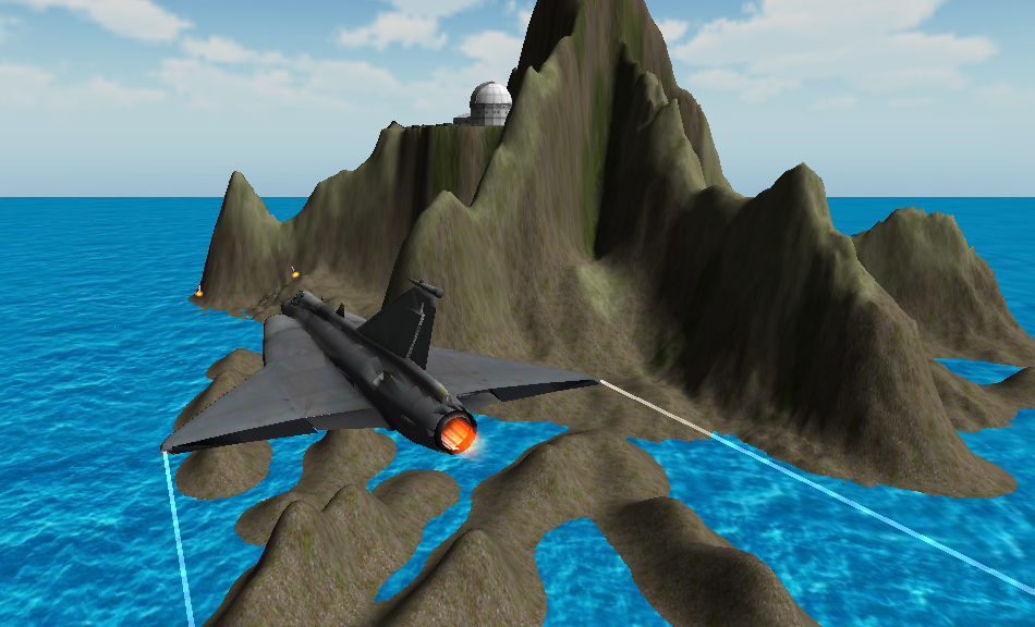 NAVY PLANE SIMULATOR 3D- screenshot