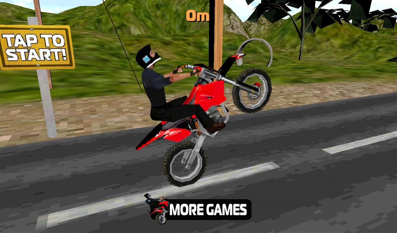 Bike 3d Games Stunt Bike D screenshot