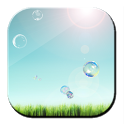 Galaxy S4 Sky n Bubbles LWP icon