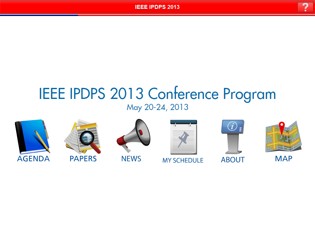 IPDPS - screenshot
