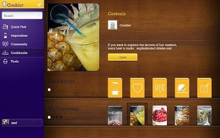 Cooklet for tablets Screenshot 16