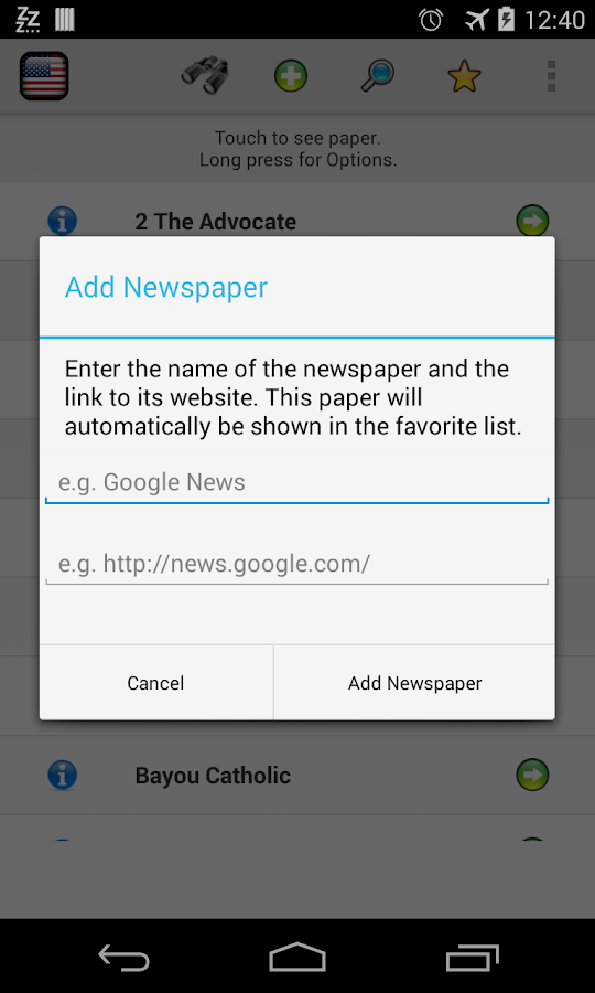 All Newspapers Louisiana-Free - screenshot