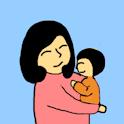 엄마미소 logo