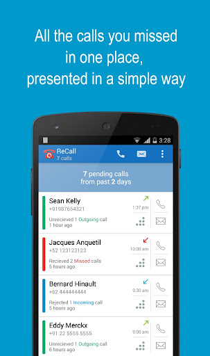 ReCall - Missed Call Tracker