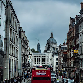 London by Nesrine el Khatib - City,  Street & Park  Street Scenes