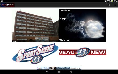 WEAU 13 News - screenshot thumbnail