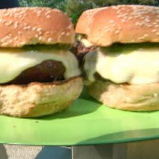 Green Chilli Cheeseburgers
