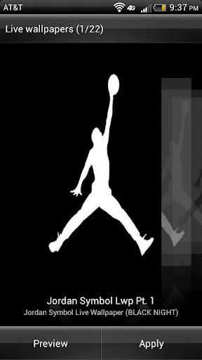Retro Jordan HD Live Wallpaper