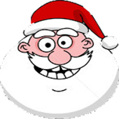 Santa Laughs Widget
