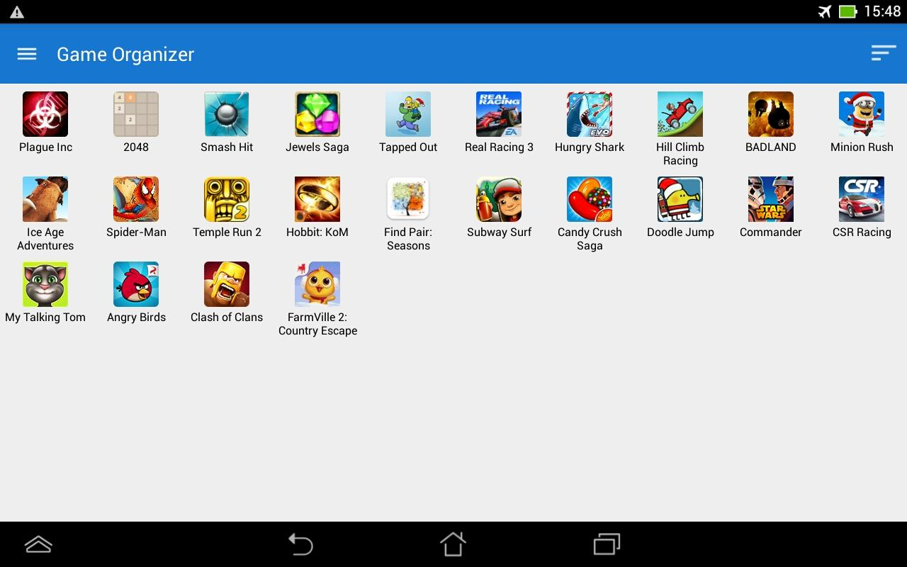 Game Organizer App Manager Android Apps On Google Play