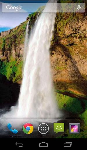 Waterfall Beauty LWP HD Free