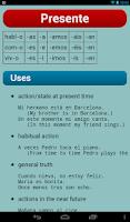 Screenshot of Spanish Verbs Pro