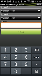 Sussex CFCU Mobile Banking - screenshot thumbnail