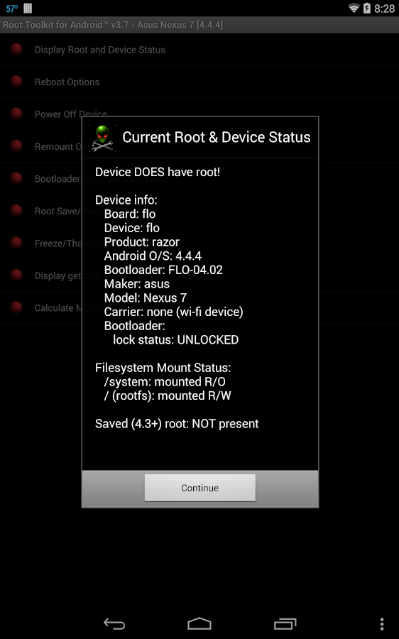 Root Toolkit for Android™ - screenshot