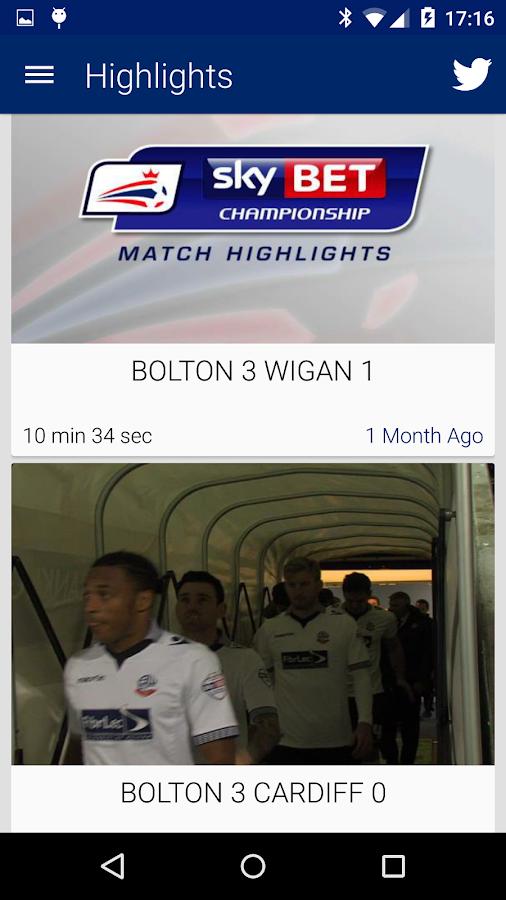 Bolton Wanderers - screenshot