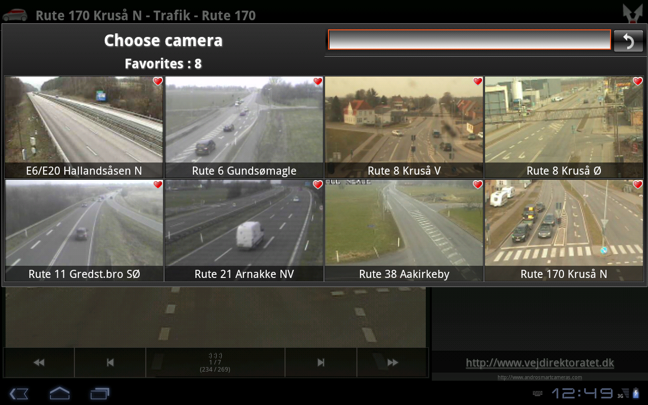 Cameras Denmark - screenshot