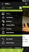 Screenshot of Memedroid Pro