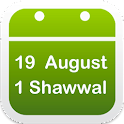 Hijri Date +Moon Phase Widget icon