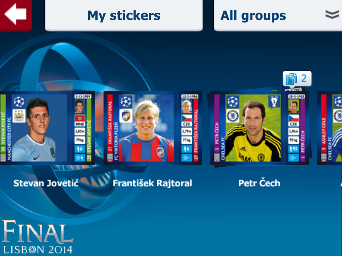 UCL Virtual Collection - screenshot