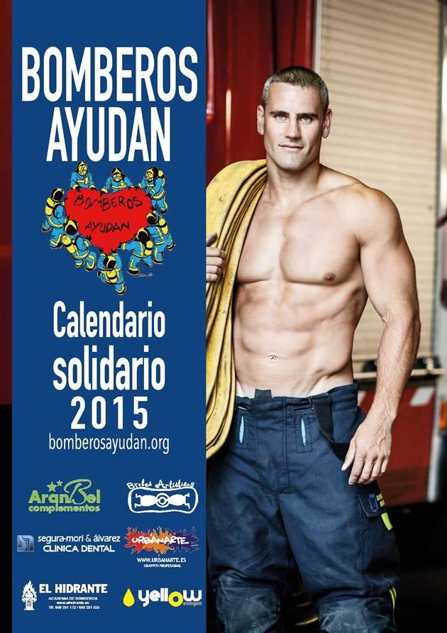 foto calendario bombero sevilla:
